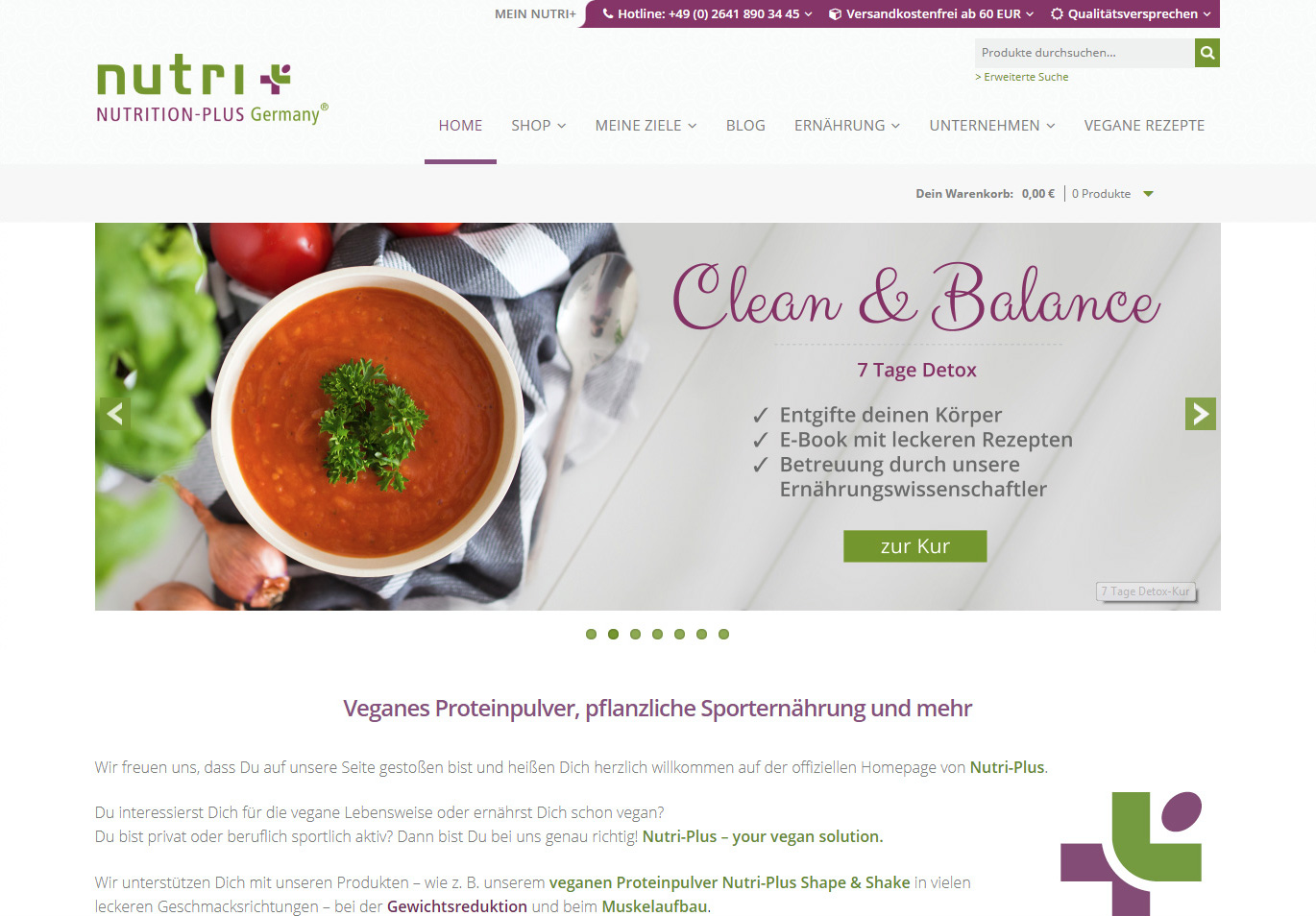 Online Shop mit WordPress